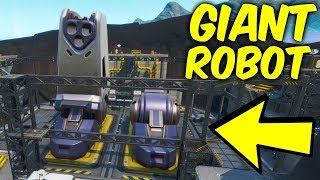 Fortnite map changes. Pressure Plant - GIANT ROBOT GETTING BUILT