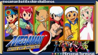 Mega Man Battle Chip Challenge OST - T01: Theme Of Mega Man Battle Chip Challenge