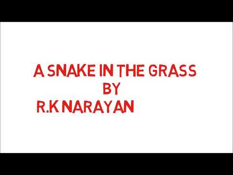 A Snake In The Grass By R.K Narayan | In Hindi