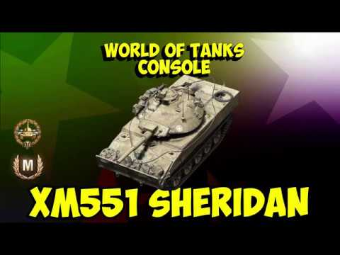 World of Tanks Console - XM551 Sheridan - Ace Tanker