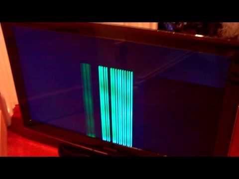 Samsung LE40A656 TV Vertical Line Fault