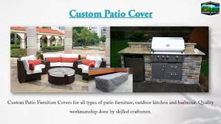 Custom Patio Cover   Outdoor Covers Canada