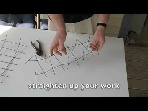 Make Your Own Bird Spike Strips From Old Fencing Youtube