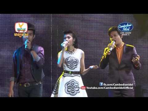 Cambodian Idol | Live Show | Week 05 | ការច្រៀងរួមគ្នារបស់បេក្ខភាពទាំង៧