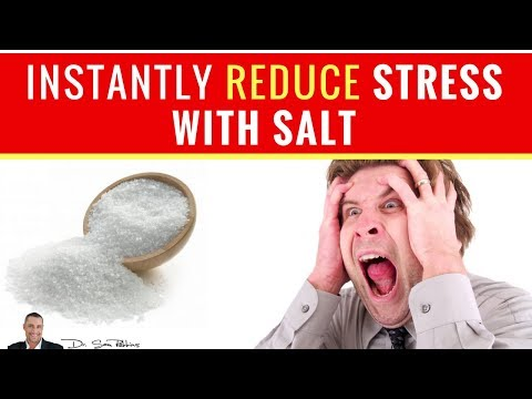 😵 How To Instantly Reduce Stress, Anxiety And Panic With Salt - By Dr Sam Robbins