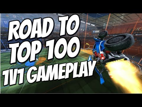 NEW CONTROLLER FEELS INSANE | 1v1 Road to Top 100 (Rocket League Gameplay) thumbnail