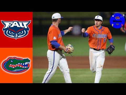 Download #21 Florida Atlantic vs #6 Florida Highlights (Extra Innings!)   2021 College Baseball Highlights