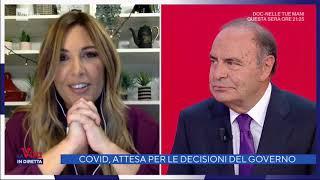 Bruno Vespa e Francesca Fagnani - La Vita in Diretta 12/11/2020
