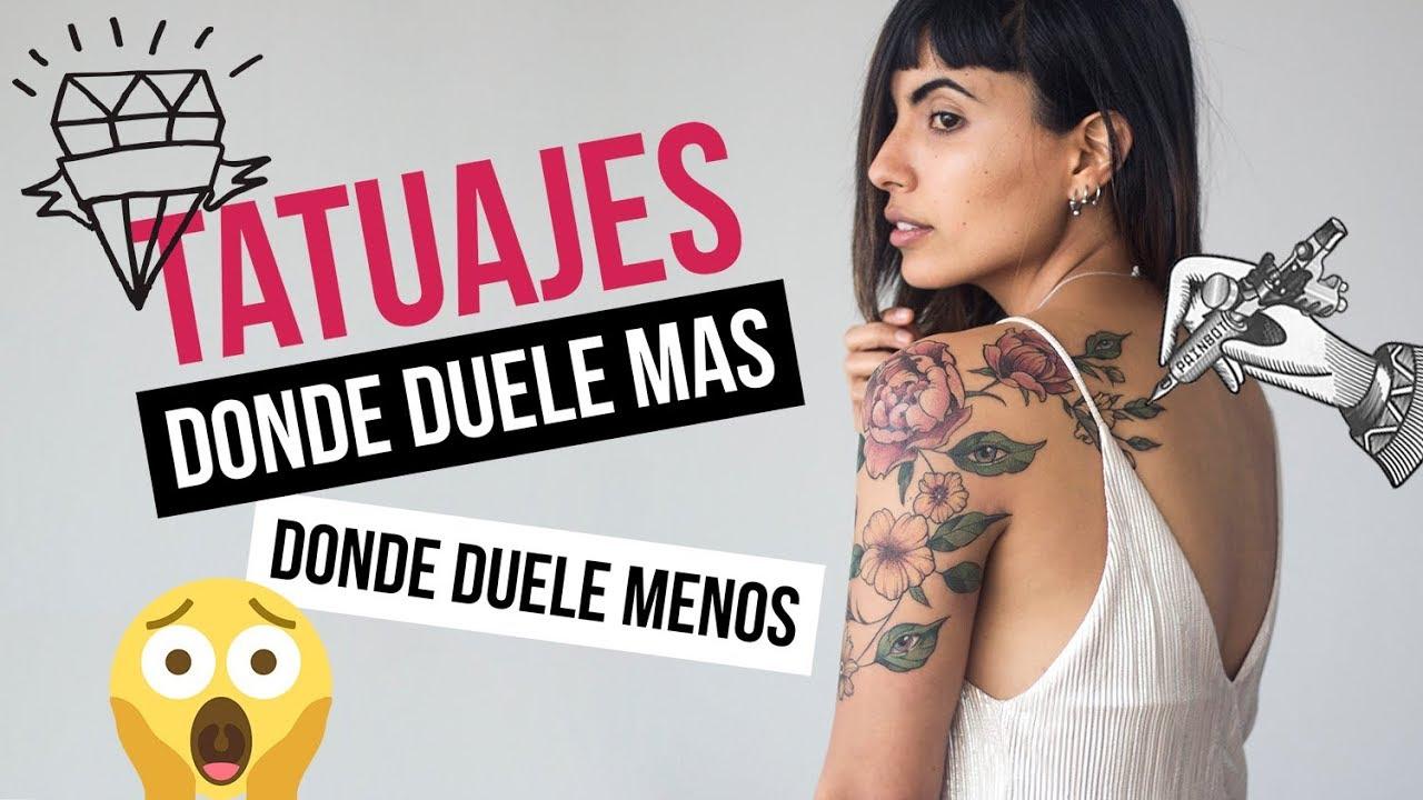 Dónde Duele Más Y Dónde Menos Hacerse Tatuajes Youtube