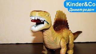 Диметродон игрушка динозавр обзор. Хороший шагающий динозавр