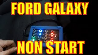 Ford Galaxy 2.0 D - Non Start, no communications, stuck in park