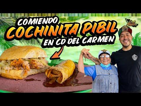 Cochinita con Chocomilk mientras vemos Delfines 🐬 en el MERCADO de Cd. del Carmen