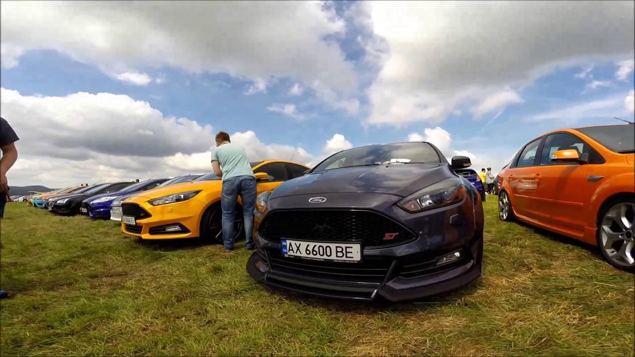 7 Internationales Ford Focus RST Treffen 09072016  YouTube