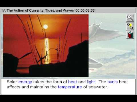 The Actions of Currents, Tides and Waves (Introducing Oceanography Part 4)