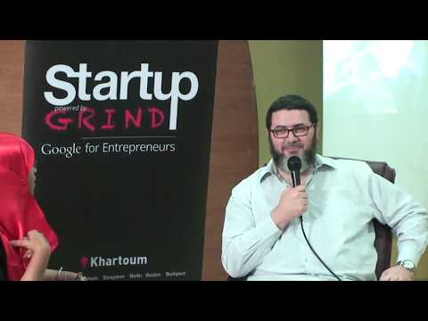 Startup Grind khartoum Hosting Mr Mohammed Tolba - Over Coffee Solutions OCS