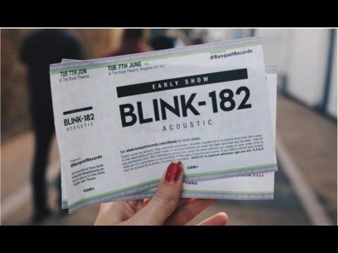 VLOG: BLINK 182 AT KINGSTON ROSE THEATRE