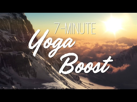 7-Minute Yoga Boost - Yoga With Adriene