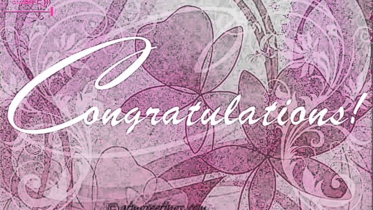 Congratulations Ecards Greetings Card Wishes Messages