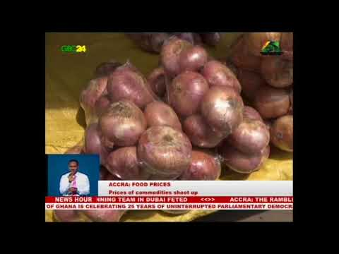 Accra: Prices of Commodities shoot up