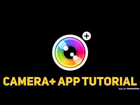 Camera+ IOS App Tutorial