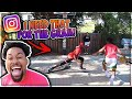 """I BROKE HIS ANKLES! """"I Need That For The Gram"""" Basketball Challenge 