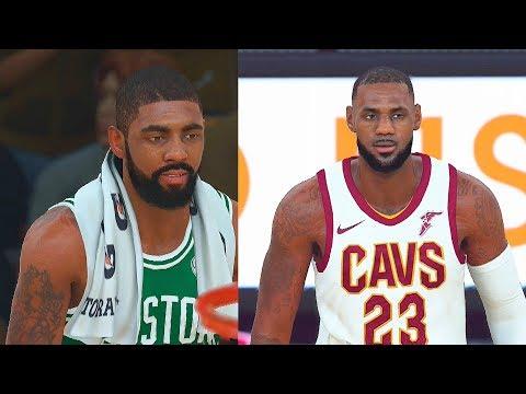 NBA 2K18 CAVALIERS vs CELTICS 5 VS 5 Full Gameplay! LeBron James vs Kyrie Irving!