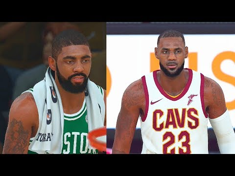 NBA 2K18 CAVALIERS VS CELTICS FULL GAMEPLAY 5 VS 5! LEBRON JAMES VS KYRIE IRVING!