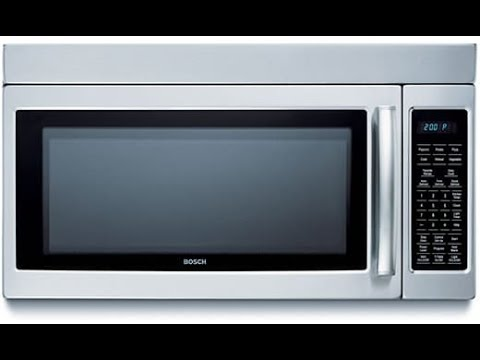 Bosch 1 8 Cu Ft Over The Range Microwave Hmv9305 Review Overview