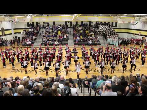 Clifton Mustang Marching Band - 11/12/16 (West Milford Tattoo - 2016)