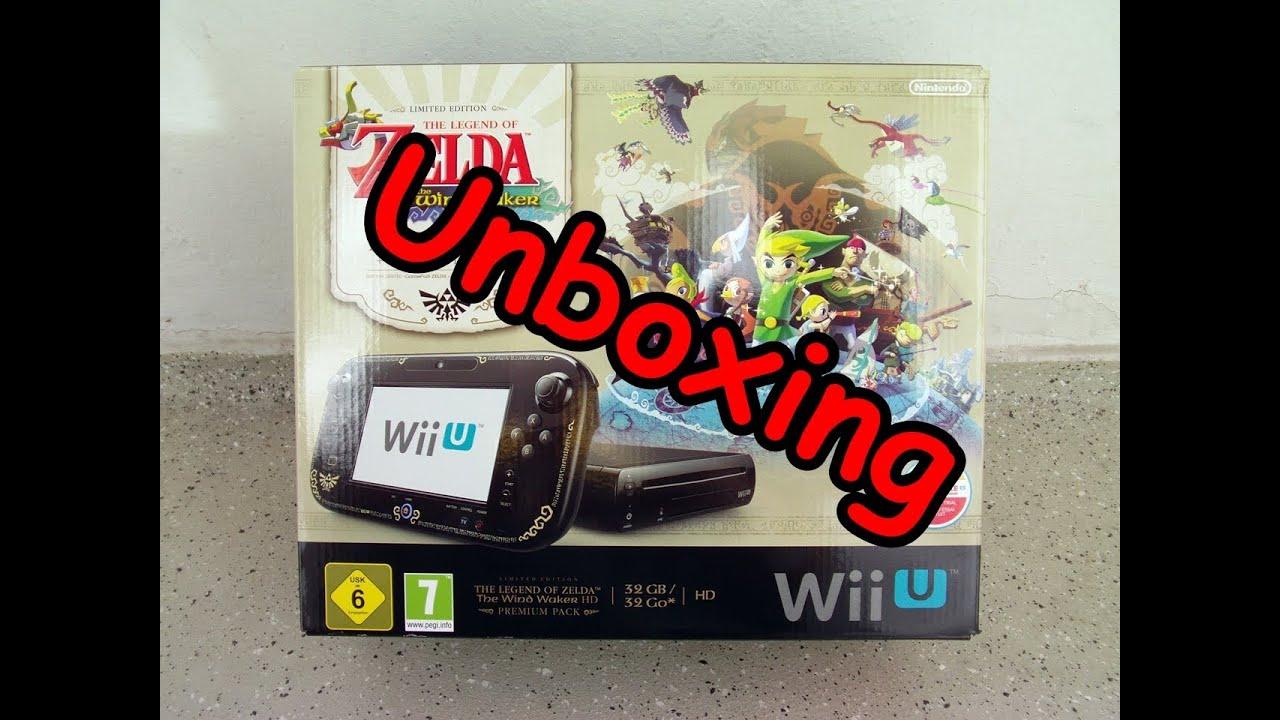Nintendo Wii U The Legend of Zelda The Wind Waker HD Premium Pack