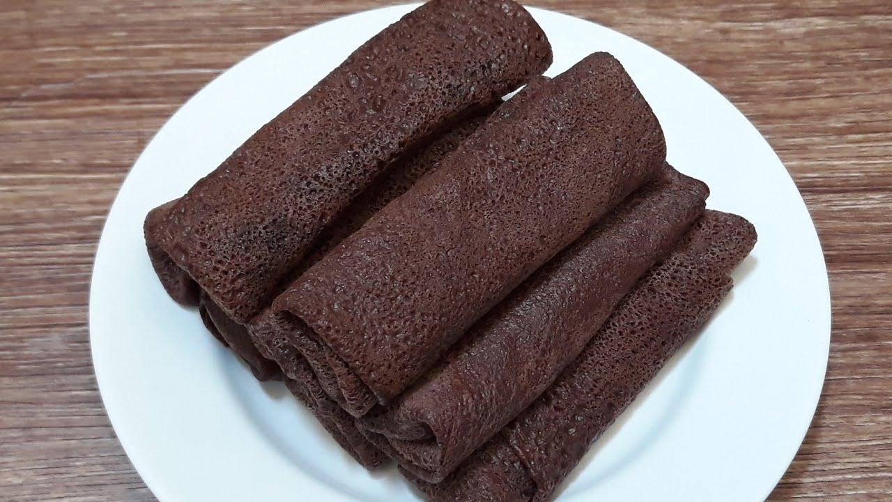 Cara Membuat Kue Dadar Gulung Pisang Coklat