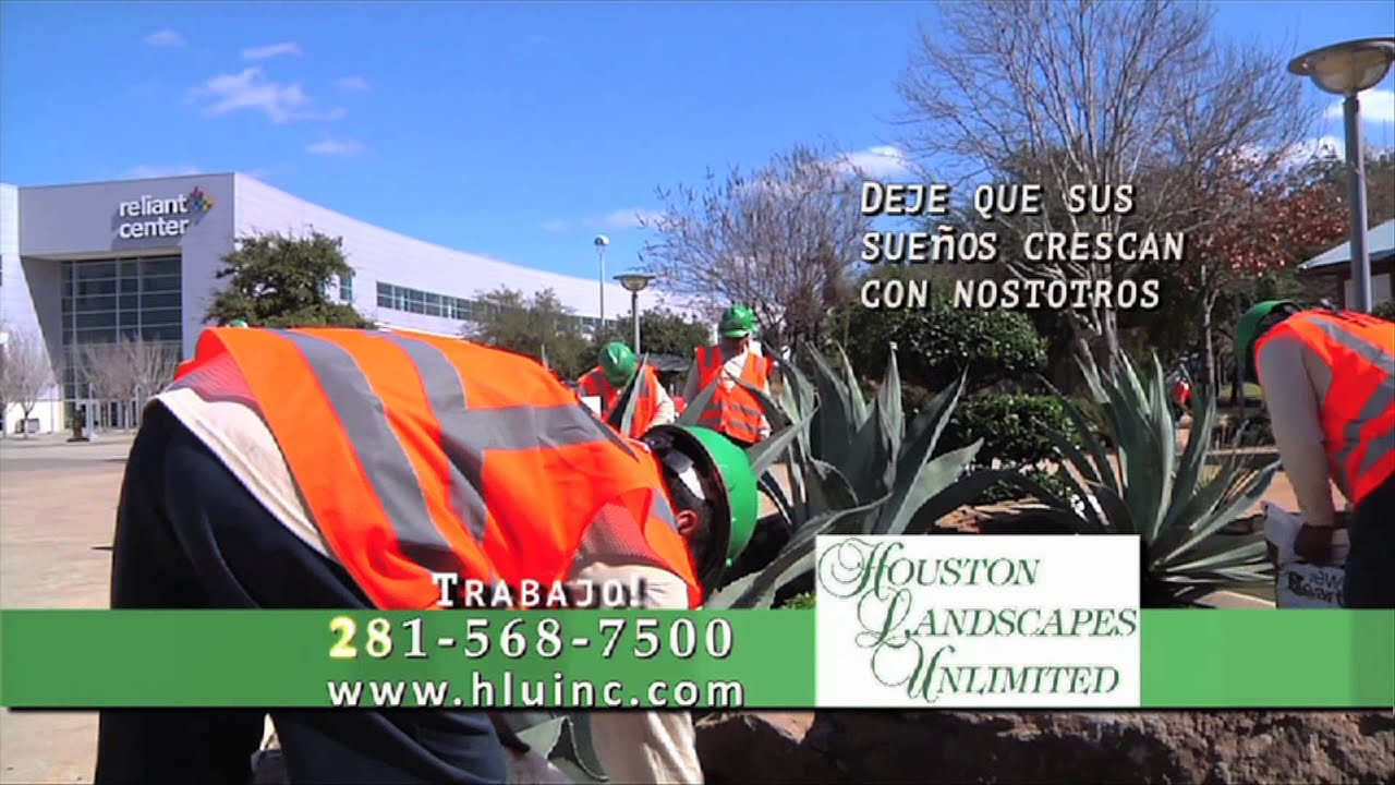 Houston Landscapes Unlimited - Commercial - YouTube