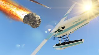 METEOR SHOWER MOD! (GTA 5 Funny Moments)