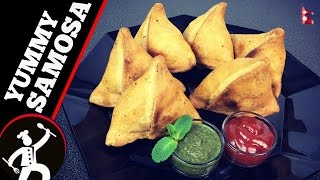 SAMOSA recipe | Everything explained | How to make Perfect SAMOSA with easy steps🍴 70