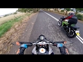 Yamaha Sr 250 runs off road