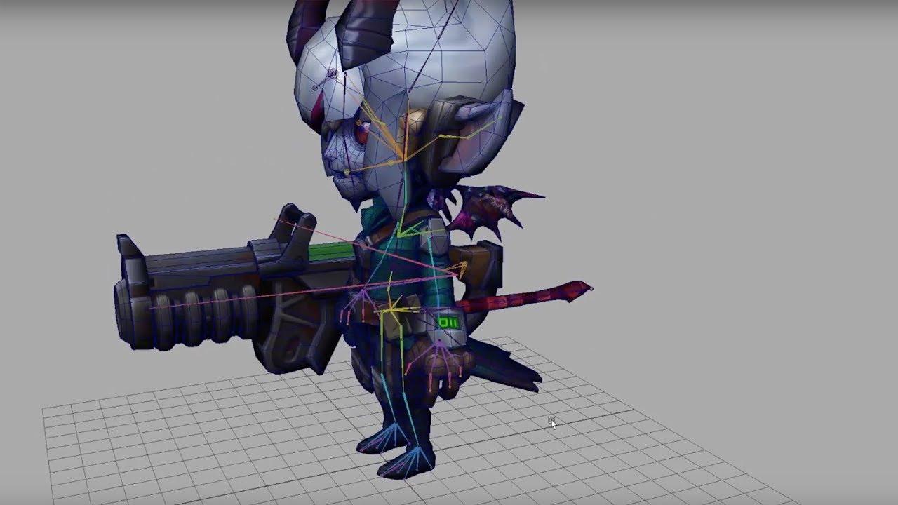 Little Demon Trist: Model & SFX – Nexus