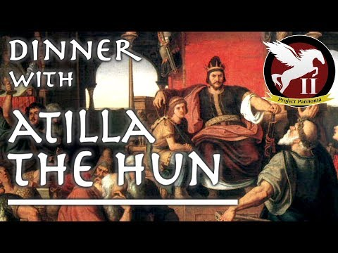 Dinner with Atilla