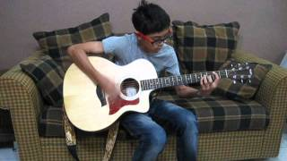 Justin Bieber As Long As You Love Me (Believe Acoustic) guitar cover by Ezmir