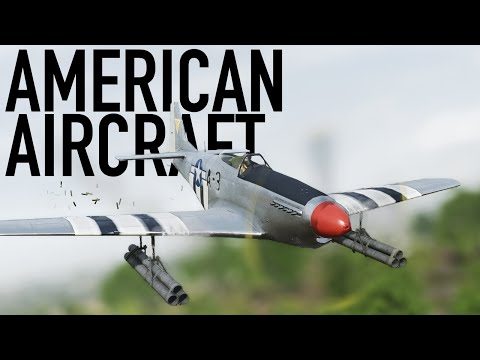 Battlefield 5 - American Aircraft, P-51 Mustang + A-20 Havoc Overview/Gameplay |