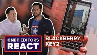 BlackBerry Key2: CNET editors react
