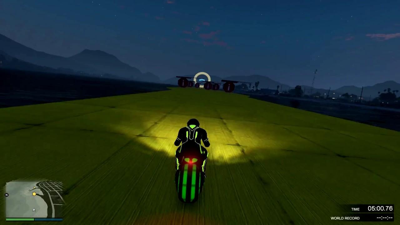 რბოლა ახალი მოტოებით (GTA 5 Online ქართულად)
