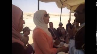 المصريون يحتفلون بالسادات 2 فى قناة السويس الجديدة