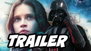 Star Wars Rogue One Trailer 3 Breakdown(Star Wars Rogue One Trailer 3. Darth Vader, First Death Star Plans, Star Wars Rebels, Star Wars Episode 8 Crossover Theories and Guardians Of The Galaxy 2 ..., 2016-10-13T19:38:04.000Z)