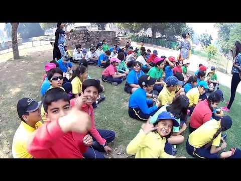 The Shriram Millennium School, Faridabad, Kids In Qutub Minar; Historical Places