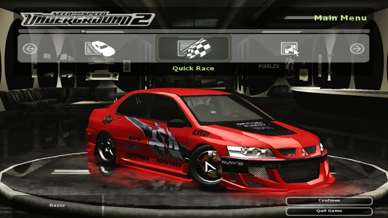 2016 Lancer Evolution >> How To Make FnF Tokyo Drift Sean's Lancer Evo 8 in NFS Underground 2 - YouTube
