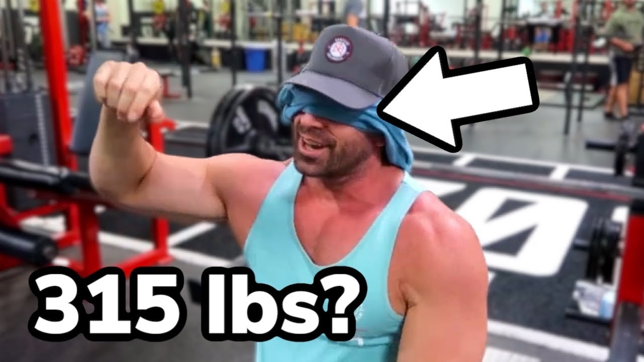 Bradley Martyn Plays GUESS THE WEIGHT