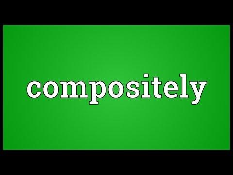 Header of compositely