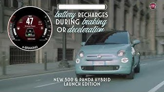 New Fiat 500 and Panda Hybrid | Charging batteries during braking and deceleration