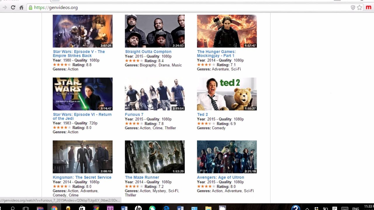 how to watch any english movie onlineno download or