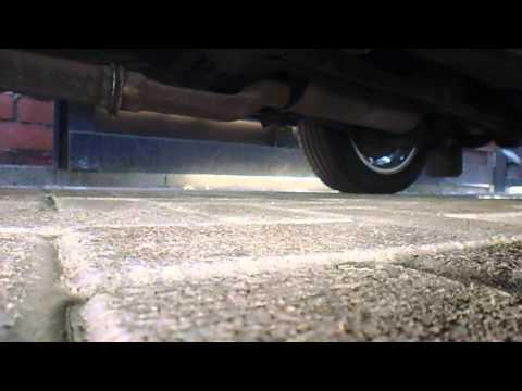 Volvo 760 765 Turbodiesel D24T exhaust turbo sound, exhaust broken